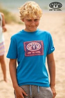 Modré tričko s obrázkom Animal Thoron