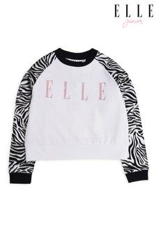 Elle Junior Zebra Raglan Sweatshirt