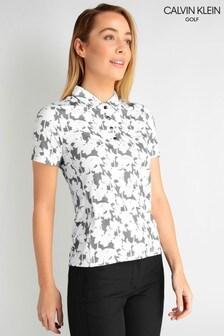 Calvin Klein Buren Short Sleeve Printed Polo