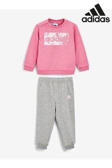 adidas Infant Linear Crew Set