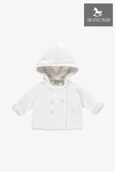 Biały płaszczyk bawełniany The Little Tailor