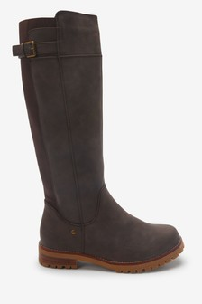 Forever Comfort® Long Chunky Boots