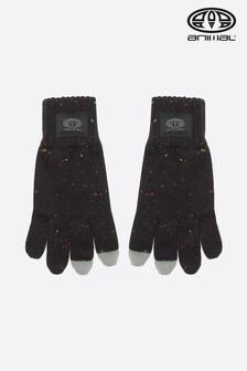 Animal Black Falcann Touchscreen Gloves