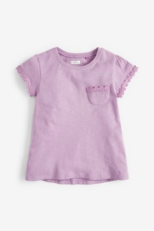 T-Shirt mit Gänseblümchenborte (3-16yrs)