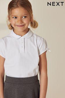 Bow Sleeve Poloshirt (3-16yrs)