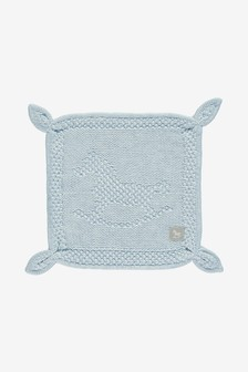 The Little Tailor Blankie Babydecke, Zartblau
