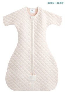 aden + anais Cream Snug Fit Sleeved Sleeping Bag 1.5 Tog