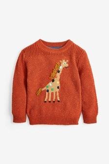 Giraffe Character Jumper (3mths-7yrs)