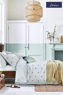 Joules Grey Kelmarsh Bees Duvet Cover and Pillowcase Set