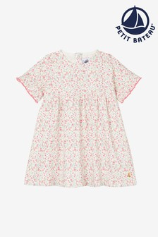 Petit Bateau Kleid, Pink