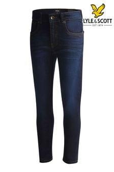 Lyle & Scott Blue Skinny Fit Classic Jeans