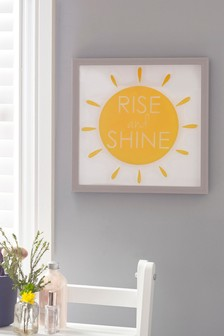 Rise And Shine Layered Wall Art
