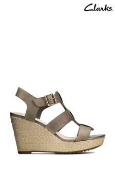 Clarks Sage Nubuck Maritsa95 Glad Sandals