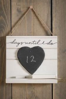 Odpočítavanie dní do svadby