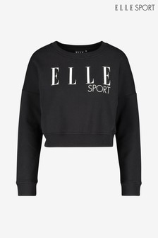 Elle Sport Signature Crew Neck Sweater
