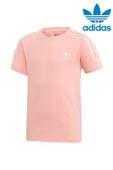 Розовая футболкаadidas Originals Lock Up