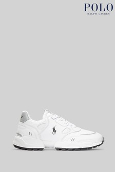 Polo Ralph Lauren Sport JGR Leather Trainers