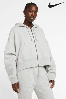 Polar oversize Nike Essential z kapturem i suwakiem