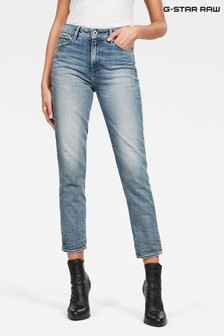 G-Star 3301 High Straight 90's Ankle Jeans
