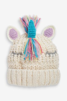 Unicorn Beanie Hat (Older)