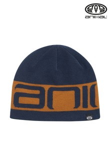 Animal Blue Addam Knitted Hat