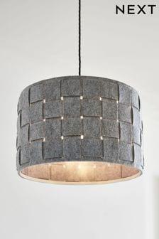 غطاء مصباح سهل التركيب نسيج Felt
