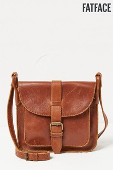 FatFace Chestnut Mini Saddle Cross Body Bag