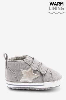 Ботиночки для малышей на липучках  (0-18мес.)