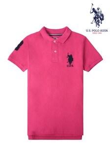 U.S Polo Assn. DHM Großes Poloshirt