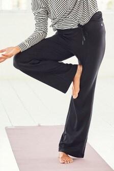 Roll Top Wide Leg Trousers