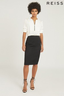 Reiss Hayes Tailored Pencil Skirt