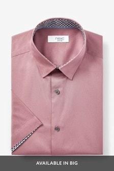 Stretch Poplin Short Sleeve Shirt