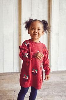 Christmas Jumper Dress (12mths-7yrs)