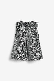 Хлопковая блузка без рукавов  (3 мес.-7 лет)