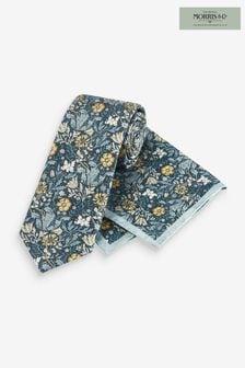 Morris & Co X Next Signature ネクタイ&ポケットチーフ セット