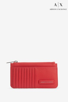 Armani Exchange Red Cardholder
