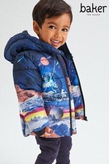 Куртка с космическим принтом Baker by Ted Baker