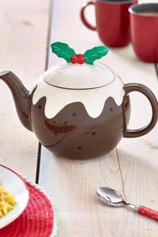 Christmas Pudding Teapot (906007)   $23