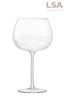 2件組LSA International 條紋琴酒酒杯