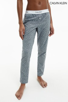 Calvin Klein Leopard Woven's Cotton Sleep Pants