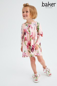 Baker by Ted Baker Floral Jersey Dress