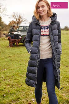 Joules Langholm A-Line Padded Coat
