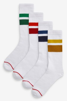 Tipped Sports Socks Four Pack