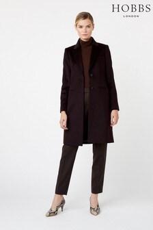 מעיל של Hobbs מדגם Tilda בצבע חום