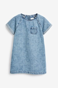 Denim Shift Dress (3-16yrs)