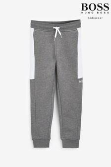 BOSS Grey/White Joggers