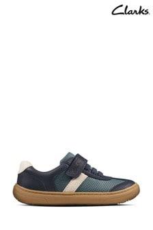Clarks Blue Flash Step K Shoes