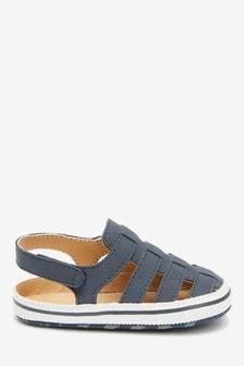 Fisherman Pram Shoes (0-24mths)