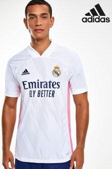 חולצה דגם Real Madrid Home 20/21 Football שלAdidas