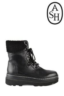 מגפיים עם שרוכים של Ash דגם Siberia בשחור